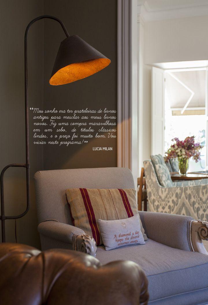 Open house - Lucia Milan. Veja: http://www.casadevalentina.com.br/blog/detalhes/open-house--lucia-milan--3032 #decor #decoracao #interior #design #casa #home #house #idea #ideia #detalhes #details #openhouse #style #estilo #casadevalentina