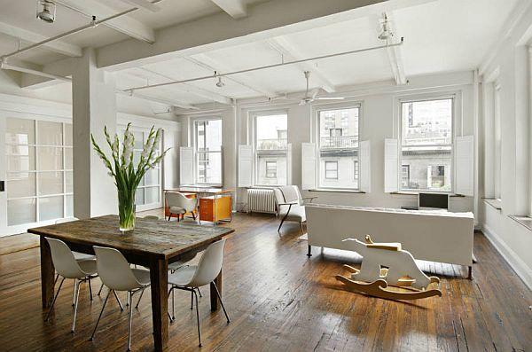 Spacious New York Loft For Sale Nyc Interior Design New York Loft Loft Living