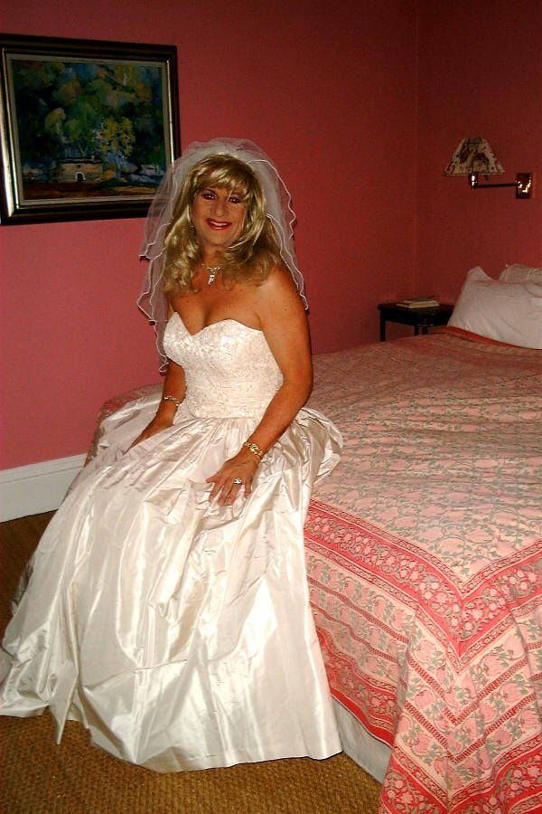 Be a transvestite bride