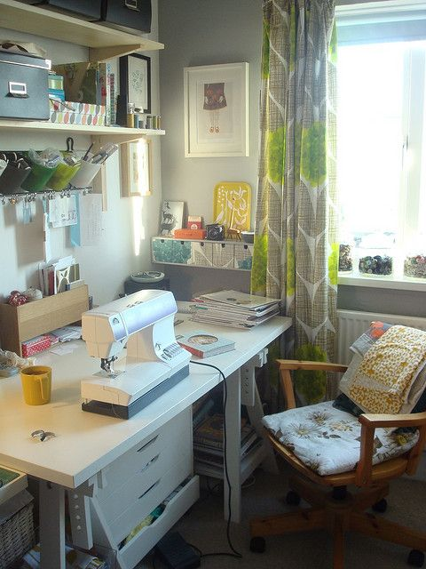 At work in the studio by treefall design, via Flickr