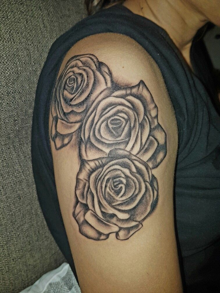 Love my new rose tattoo