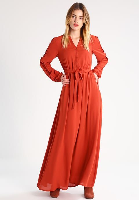 mint & berry Maxi Dress - ocre vermelho - Zalando.it