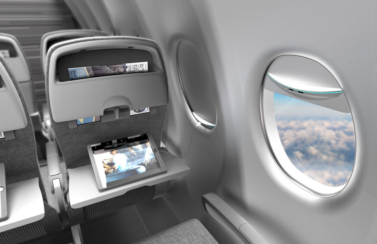 Möbel Aus Flugzeugteilen This Eco Friendly Airplane Window Shade Could Be Your Smartphone S