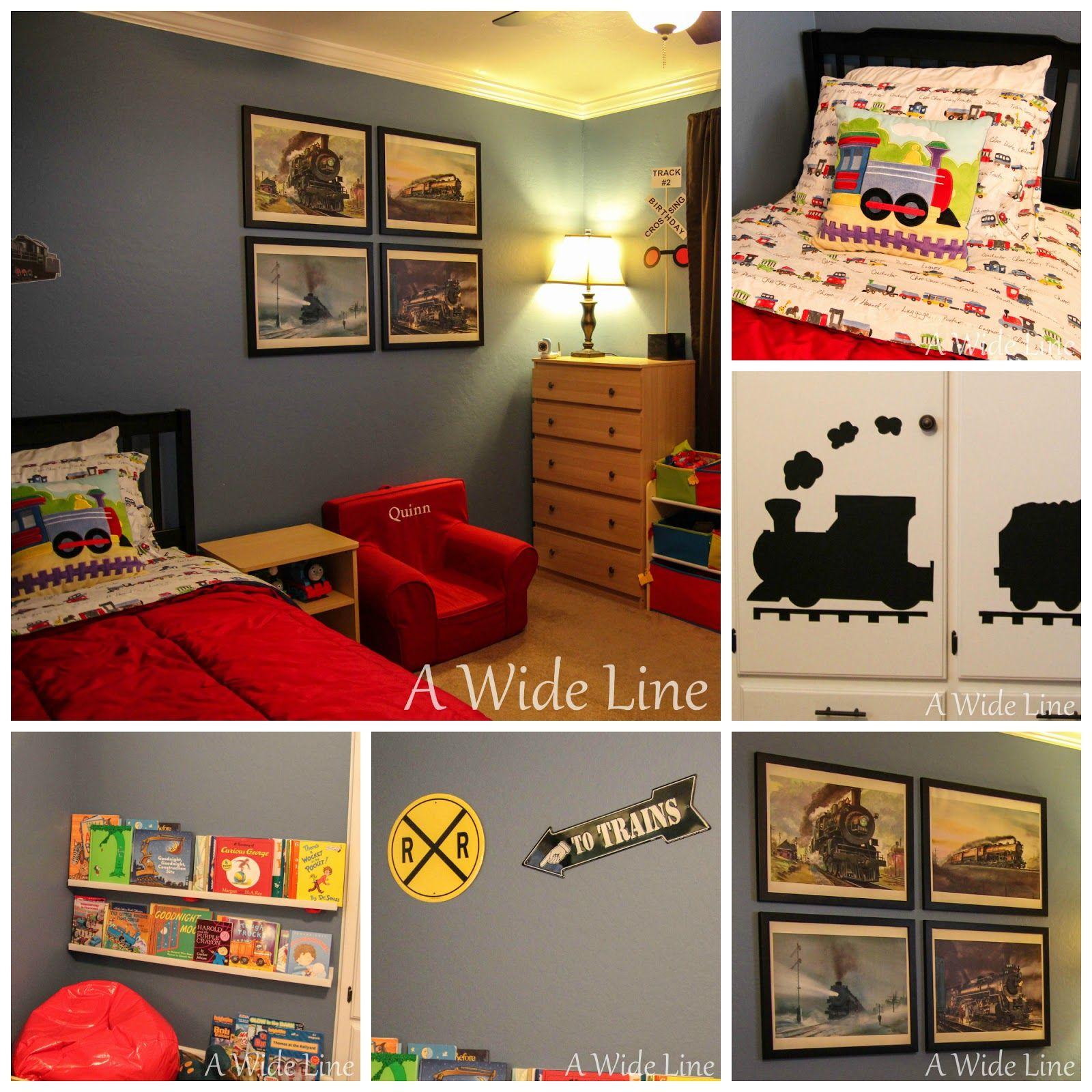 Train Themed Bedroom: From Nursery To Big Boy Bedroom