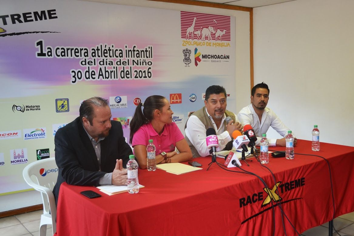 En coordinación con la empresa Racextreme y con el aval de la Asociación Michoacana de Atletismo, el Zoológico de Morelia anunció la Primera Carrera Atlética Infantil, que se llevará a ...