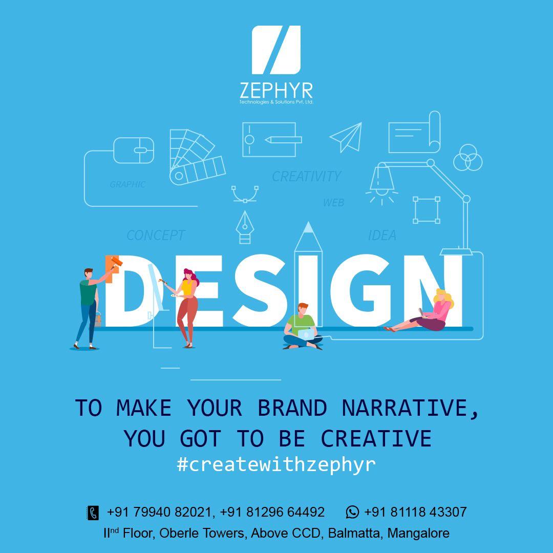 Createwithzephyr In 2020 Technology Solutions Pamphlet Design Web Development Design