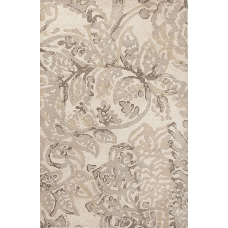 En Casa Hand Tufted Ivory/Neutral Area Rug