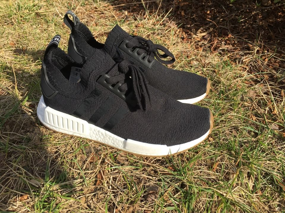 28249e4136ca8 Up Close With The Black Adidas NMD R1 PK Gum Pack BY1887 | Our New ...