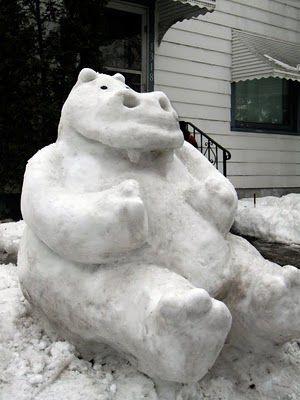 snow-hippo