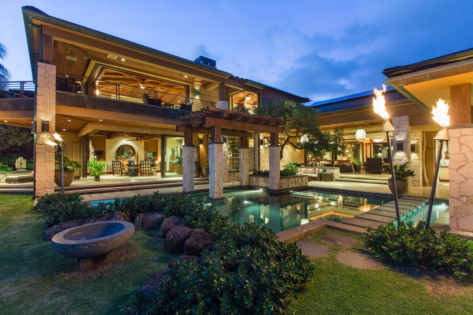 Elegant Honolulu, Hawaii Luxury Homes | Banyan House Hawaii   Gallery
