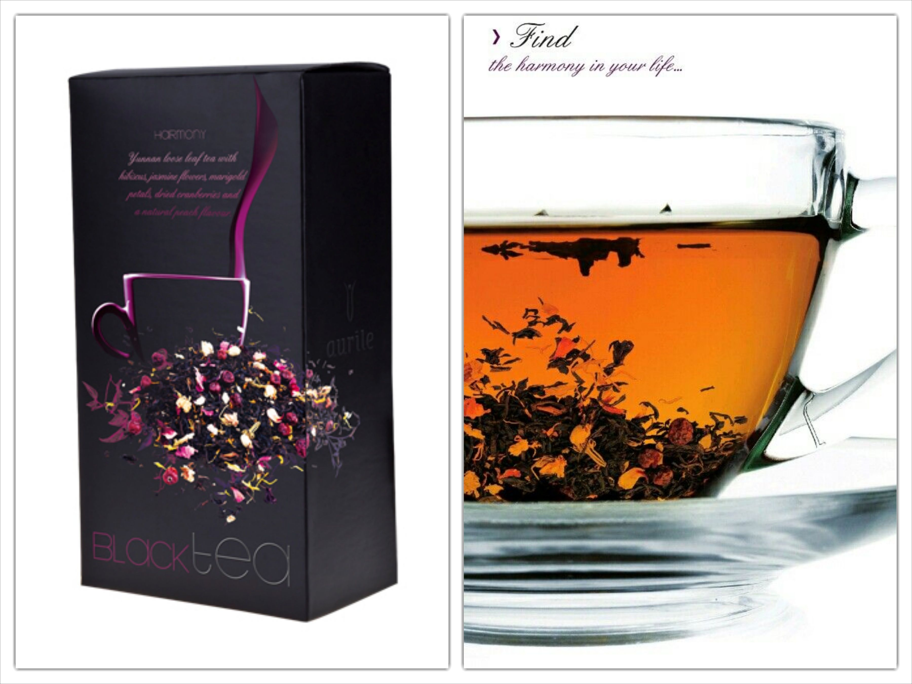 Harmony Black Tea 549 Loose Leaf Tea With The Addition Of Hibiscus