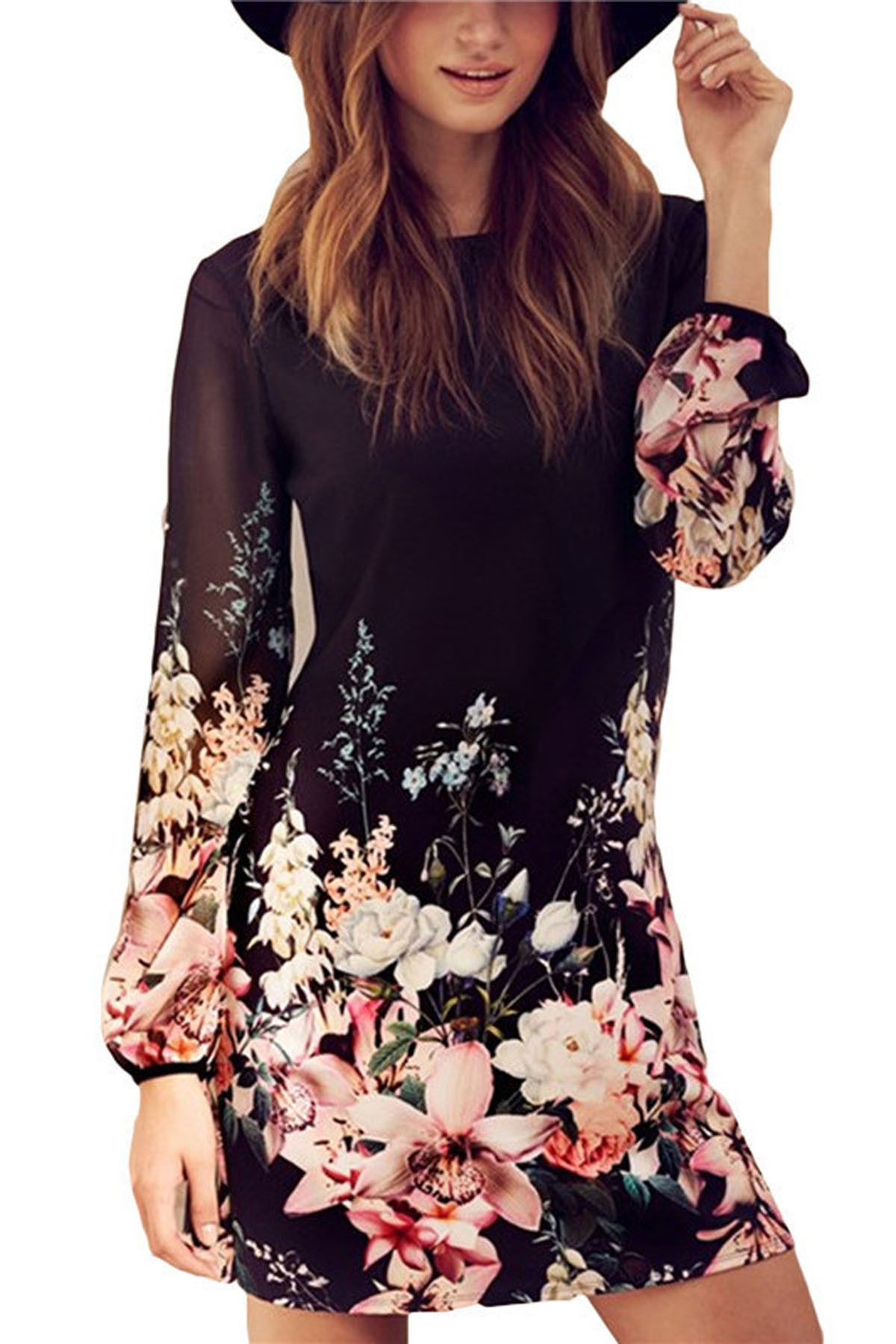 Summer Outfits with Long Sleeves Short Dresses