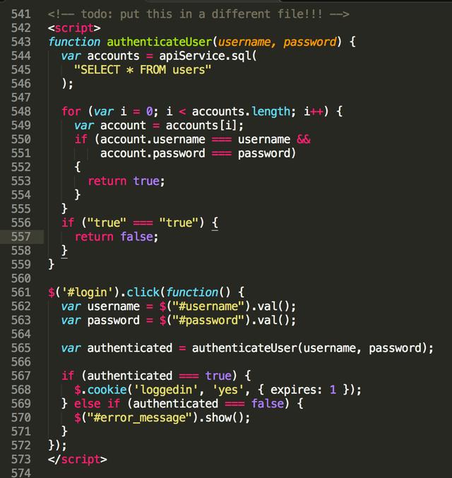 Reddit - programminghorror - This JavaScript code powers a 1.500 user intranet application(畫像あり)
