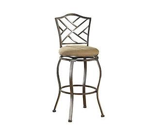 Hillsdale Furniture Hanover Swivel Bar Stool