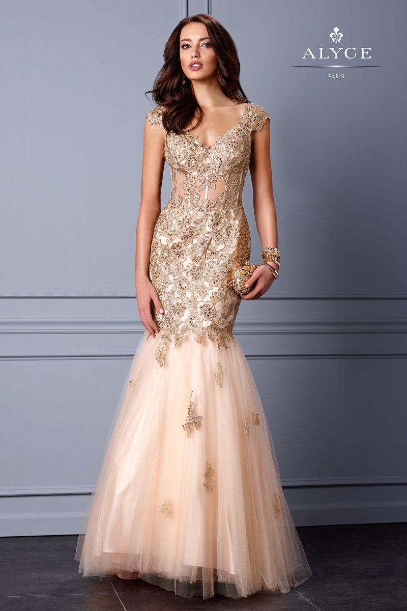 Alyce Black Label 5706 Alyce Paris Black Label Hot Prom Dresses ...