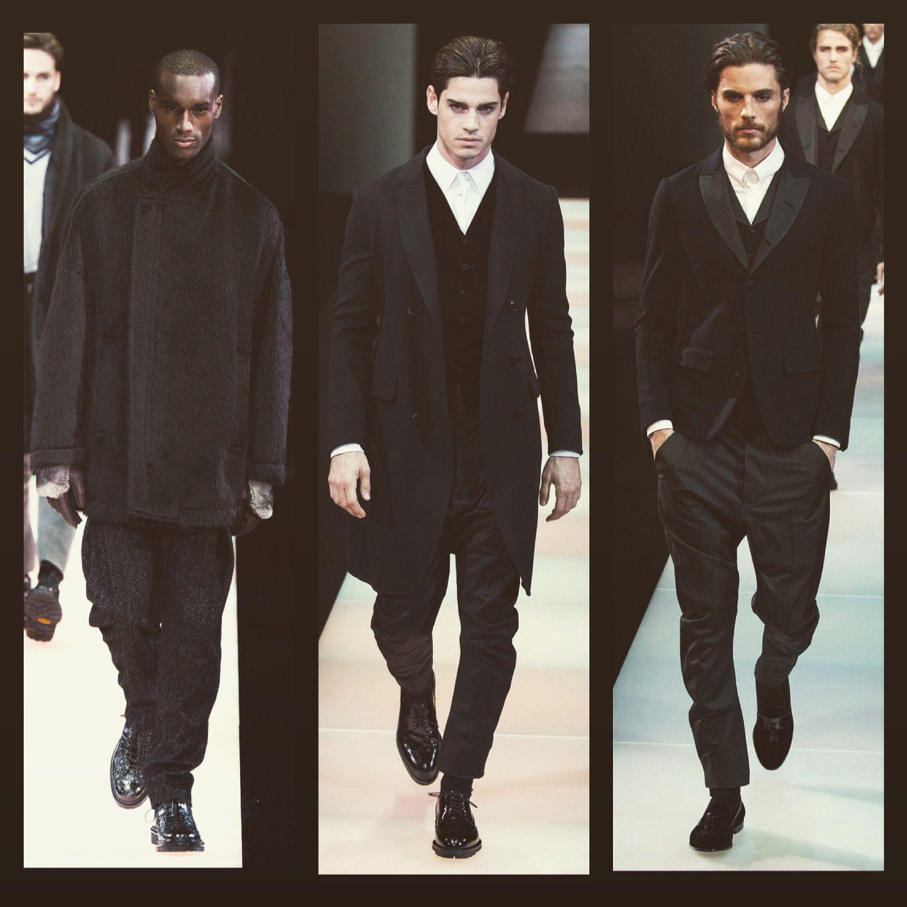 Armani f/w 2015 collection Milan Men FashionWeek