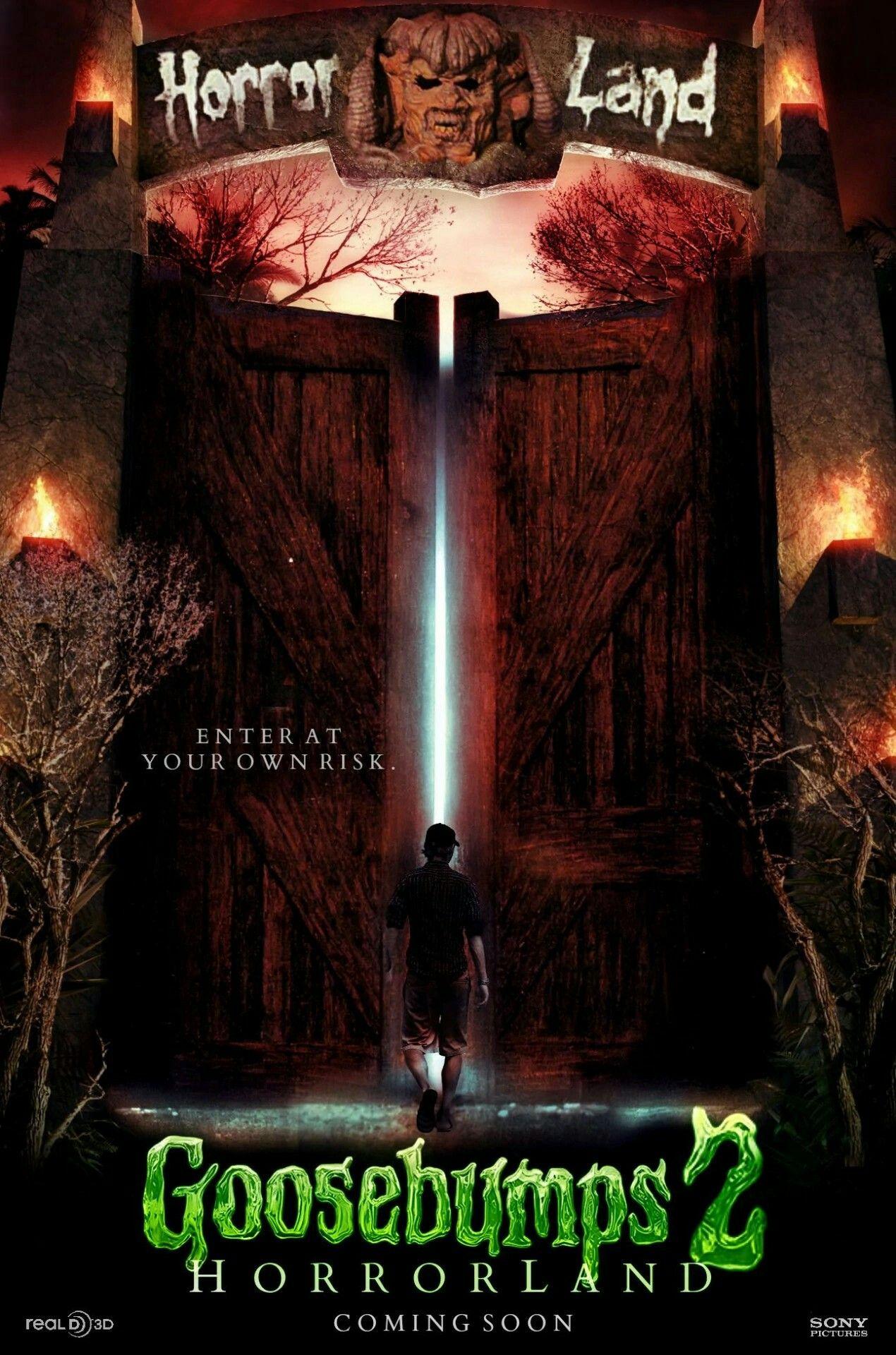 Goosebumps 2 Horrorland movie poster Halloween full