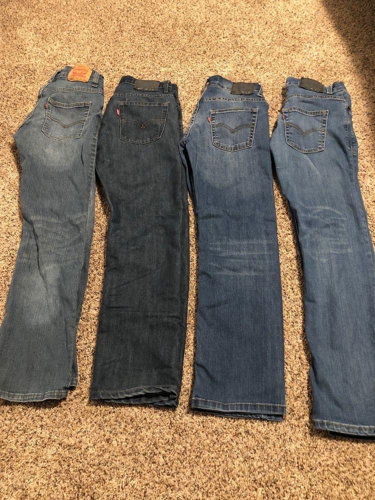 Boys levis jeans lot of 4 size 14 511 slim fit
