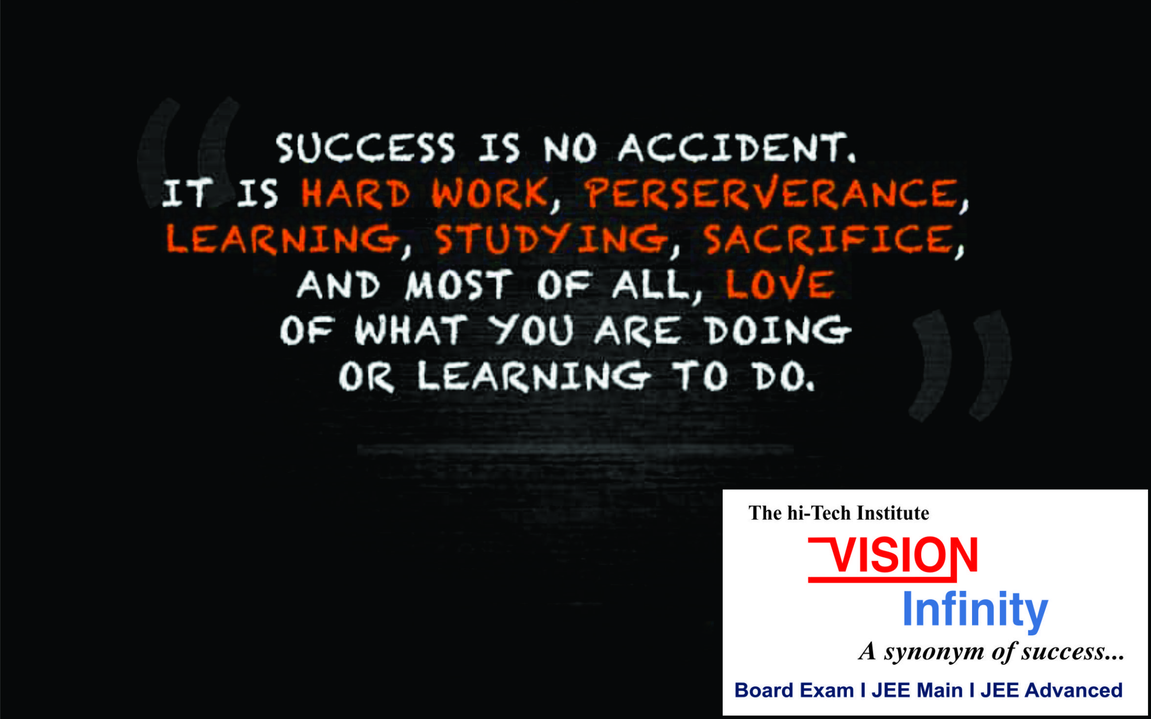 Quote Of The Day In 2020 Board Exam Work Hard Learning
