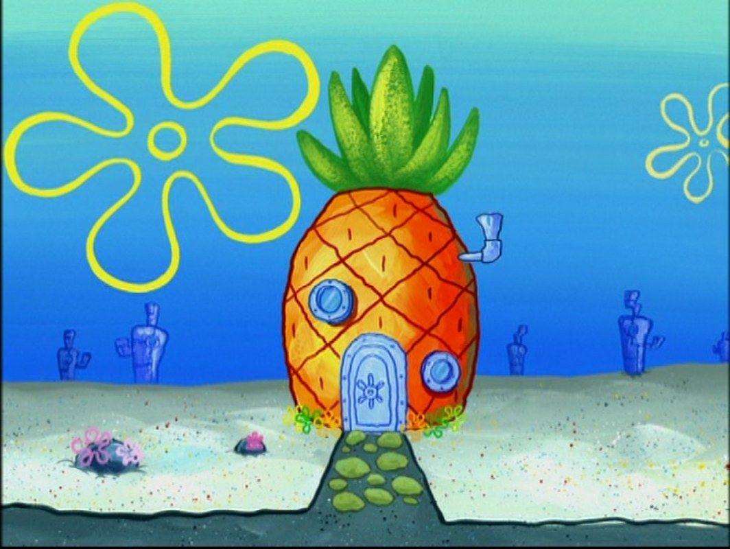 Pineapple Spongebob Painting Spongebob Drawings Spongebob