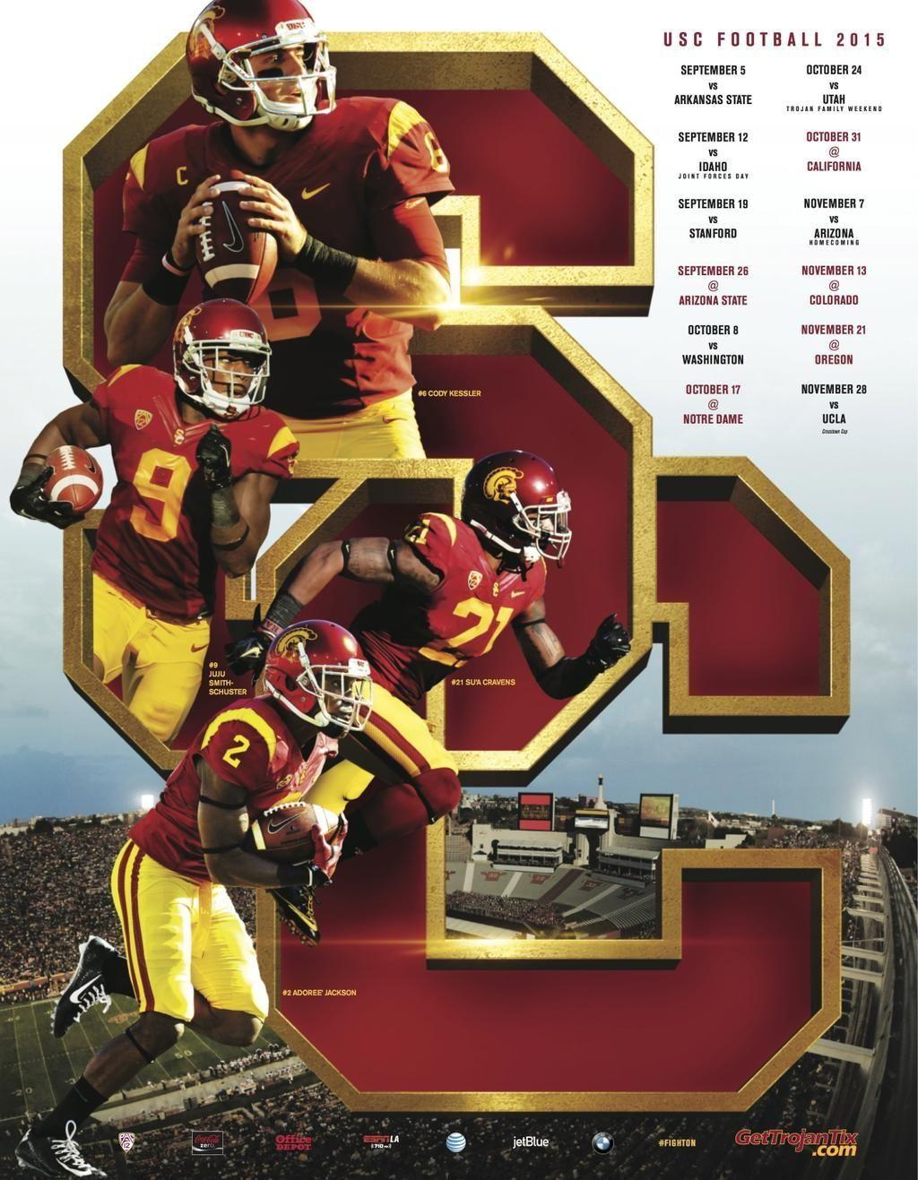 Poster Swag On Usc Athletics Usc Trojans University Of