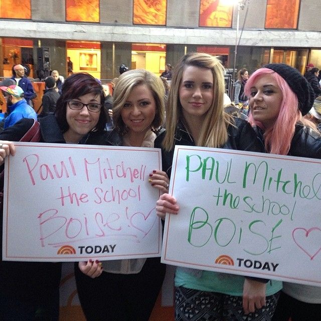Check Out Paul Mitchell The School Boise On The Today Show Pmtslife The Learning Experience Positive Learning Paul Mitchell Schools