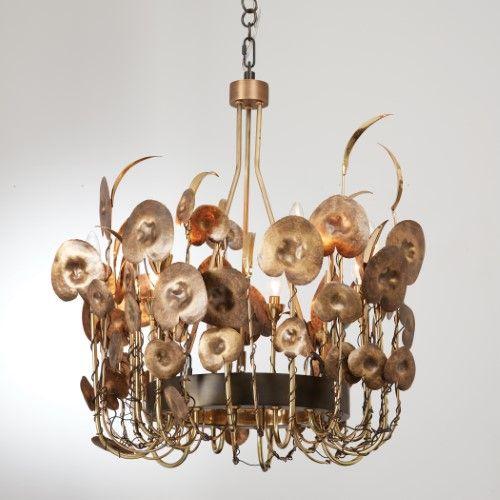7 90707 Mini Chandelier Antique Brass Chandelier Floral Chandelier