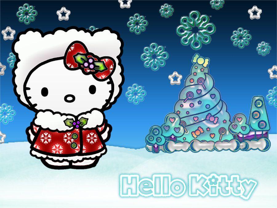 Christmas Hello Kitty Hello Kitty Christmas Hello Kitty Wallpaper Hello Kitty Art