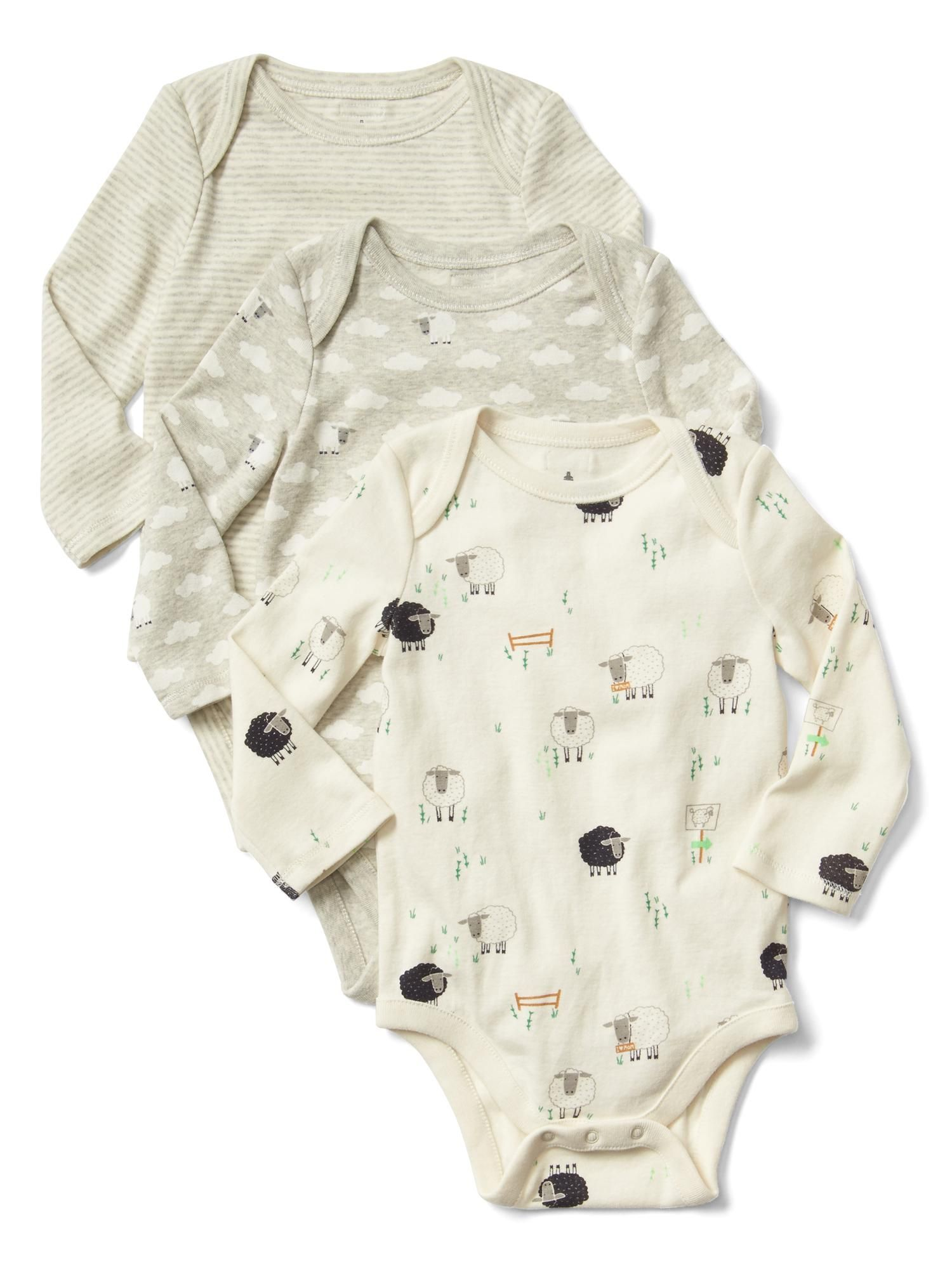 4e4aeed9d Lil  sheep bodysuit (3-pack) Now  27.96