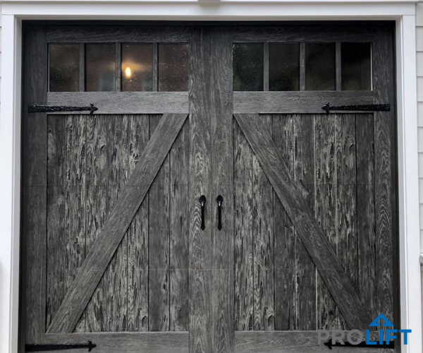 Steel Faux Wood Garage Door Weathered Wood Garage Doors Faux Wood Garage Door Wood Garage Doors
