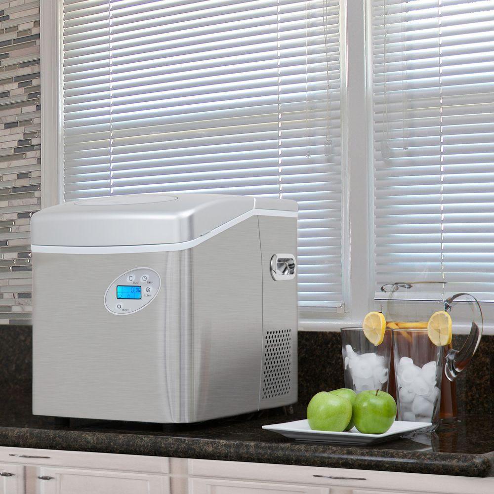 The Best Portable Ice Maker Hammacher Schlemmer Portable Ice Maker Ice Maker Ice Cube Maker