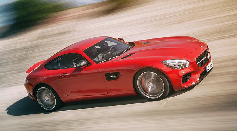Target 911: it's the new Mercedes AMG GT