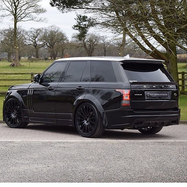 Rang Rover Vogue With #onyx Kit By @onyxconcept
