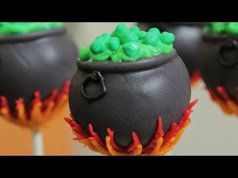 Today I made Cauldron Cake Pops! I really enjoy making nerdy themed goodies and decorating them. Im not a pro, but I love baking as a hobby. Please let me know what kind of treat you would like me to make next!   FOLLOW ME HERE Ros Facebook: http://www.facebook.com/rosannapansino Ros Twitter: https://twitter.com/RosannaPansino  BIG THANK YOU ...