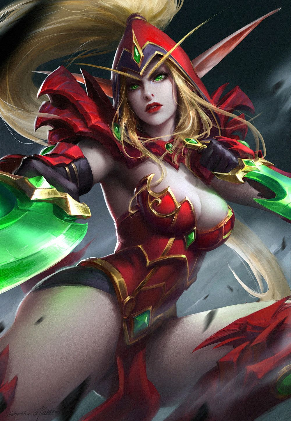 Naked valeera sanguinar against. consider, that