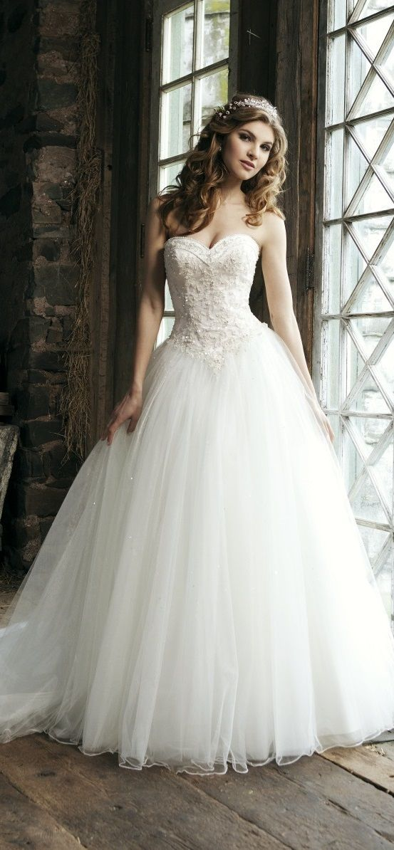 ballerina princess wedding dress by Sincerity | Wedding Dresses ...