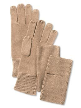 Convertible knit glove   Banana Republic
