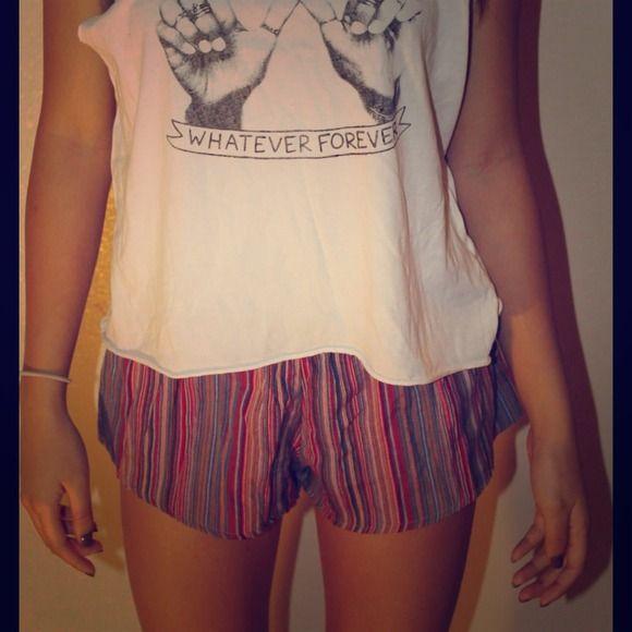 Brandy Melville shorts Tribal striped shorts Brandy Melville Shorts