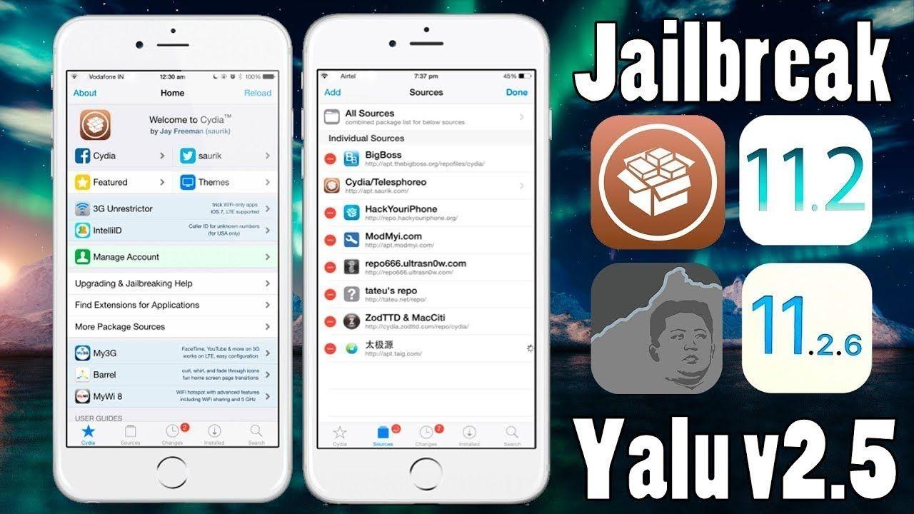 How to install Jailbreak iOS 11 2 1 - 11 2 2 & 11 2 5 - 11 2