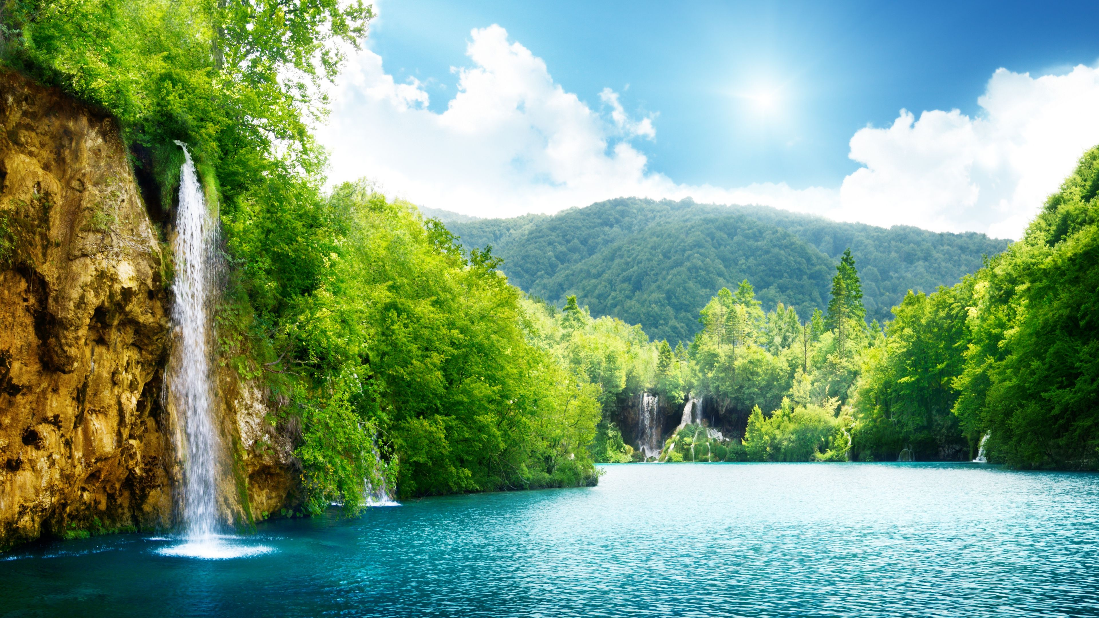 What Is Your Nature Name Waterfall Wallpaper Scenery Wallpaper