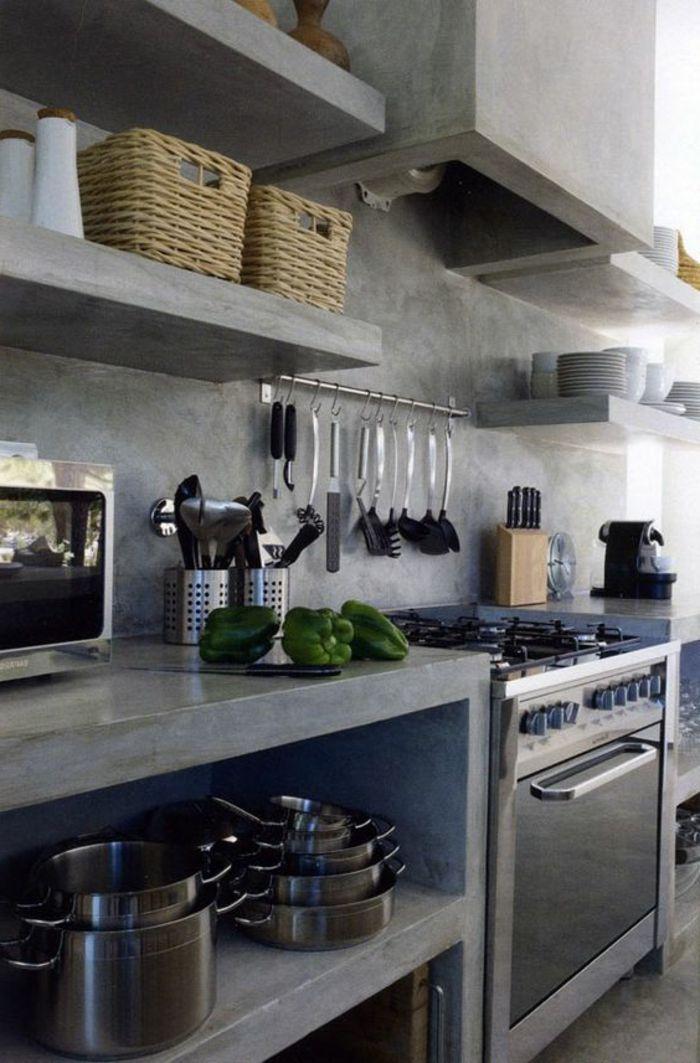 le rangement mural comment organiser bien la cuisine cuisine cocinas de obra cocina de
