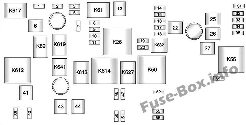 under-hood fuse box diagram: chevrolet camaro (2012, 2013, 2014, 2015) | fuse  box, chevrolet camaro 2010, chevrolet camaro  pinterest