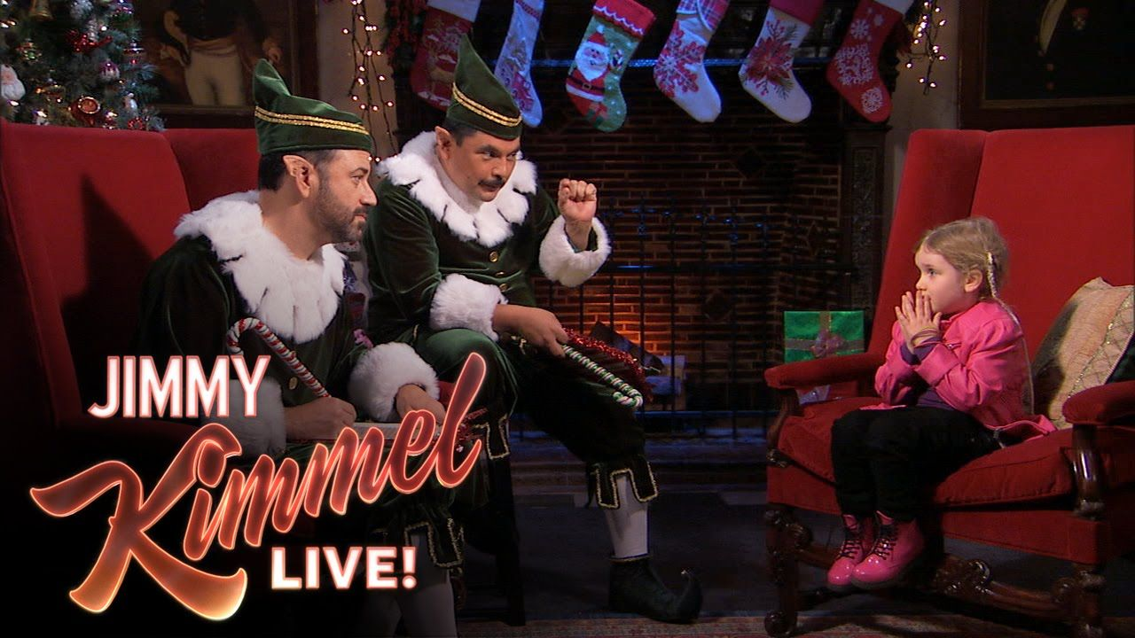 Naughty or Nice with Jimmy and Guillermo | RANDOM! | Pinterest