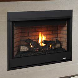 33 Merit Series Traditional Clean Face Direct Vent Fireplace