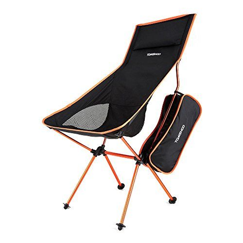 Introducing Tomshoo Ultra Lightweight Folding Portable Outdoor Camping Hiking Fishing Chair Lounger Chair Great Camping Chairs Fishing Chair Backpacking Chair