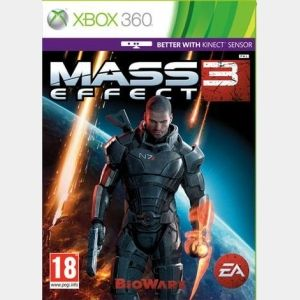 Masseffect3 Kinect Compatible Xbox 360 Mass Effect Pinterest