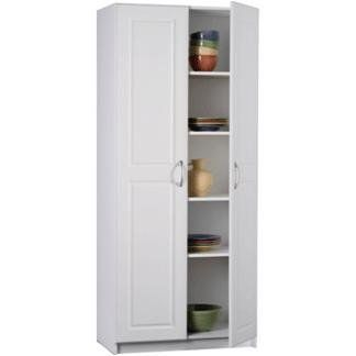 Ameriwood 7344015y Deluxe Storage Cabinet 30 Inch Wide White By Ameriwood Http Www Amazon Com Dp B003zshe0i Re Pantry Cabinet Tall Cabinet Storage Cabinet