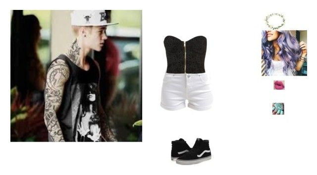 """""""going on a date with Justin"""" by browneyegirltorilove ❤ liked on Polyvore featuring New Look, Topshop, Vans, women's clothing, women's fashion, women, female, woman, misses and juniors"""