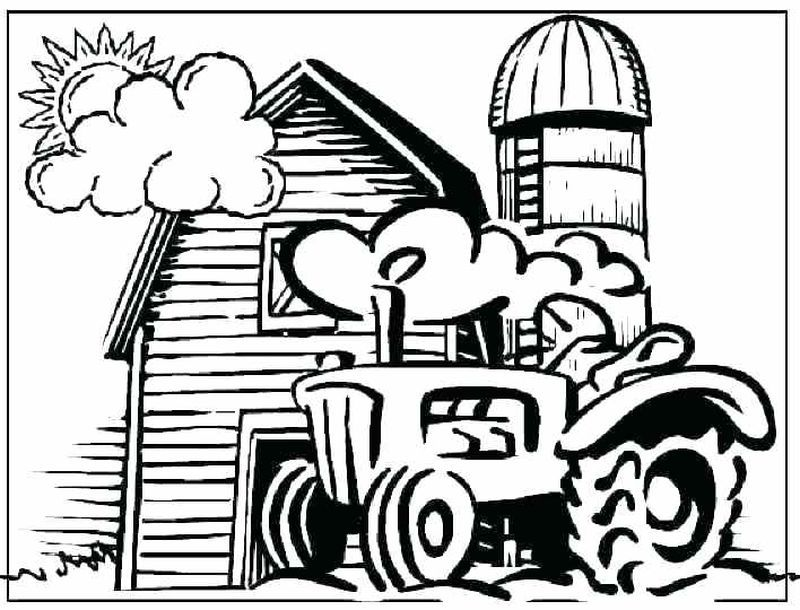 Coloring Pages Farm Animals And Their Babies Tractor Coloring Pages Farm Coloring Pages Printable Christmas Coloring Pages