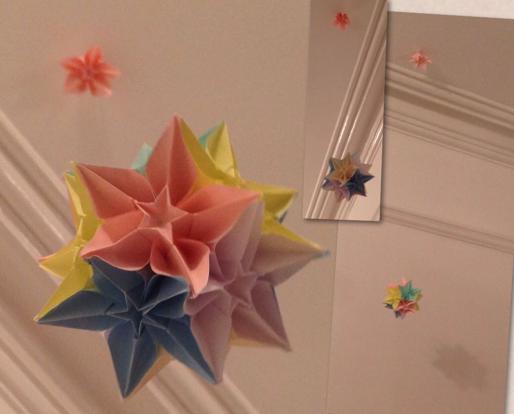 I Have Done 13 Carambola Origami Flowers Made A Ball With 12 Use